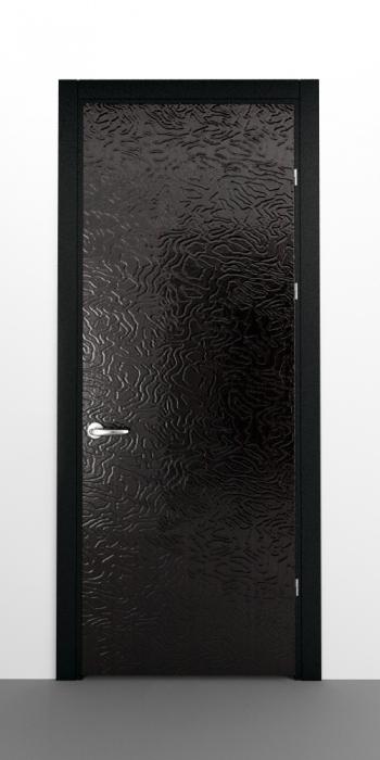 двери черный глянец входные